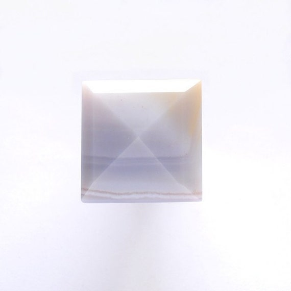 RESERVED for Monica - Ring - Agate Pyramid - by Schneider Gallery