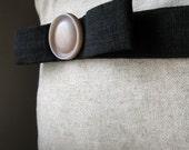 Linen Bow Pillow