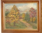Original Oil Painting Landscape Irma Cook Listed Artist