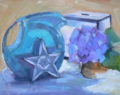 "Painting on Sale, Daily Painting, Still Life, ""Country Style"", 6x8"" Original Oil,"