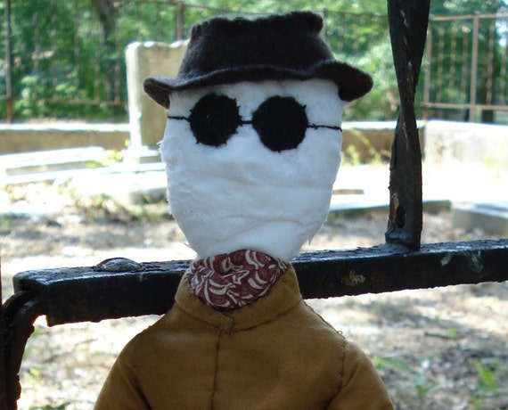 Invisible Man plush doll