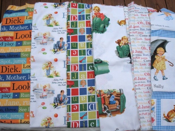 Dick And Jane Fabrics 107
