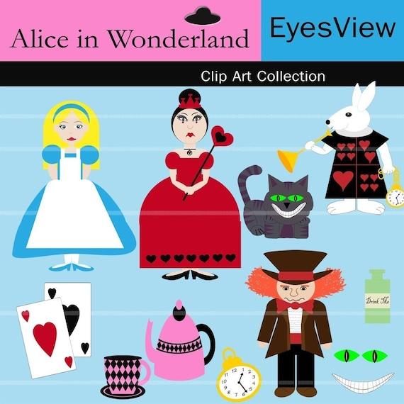 alice in wonderland clip art download - photo #40