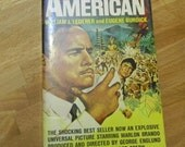 Vintage Paperback Book, The Ugly American, by Wm J Lederer and Eugene Burdick