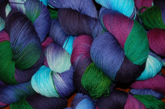 Studio June Yarn Sock Luck - Superwash Merino Wool, Nylon - Colorway:  Calm, Cool, and Collected