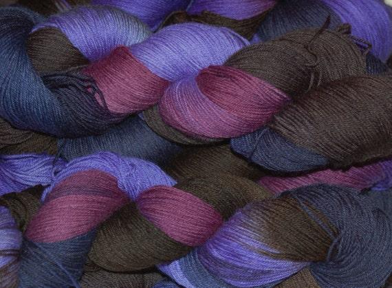 Studio June Yarn Sock Luck - Superwash Merino Wool, Nylon - Dancing in the Moonlight