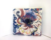 Small Zipper Pouch - Liberty of London Tana Lawn Fabric