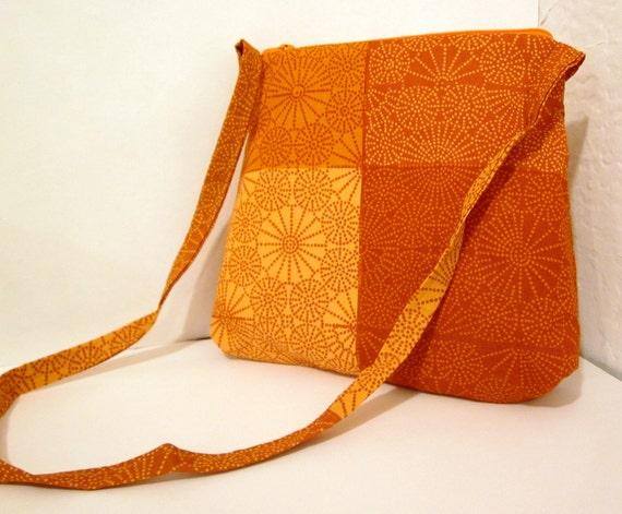Sunburst Cross Body Bag