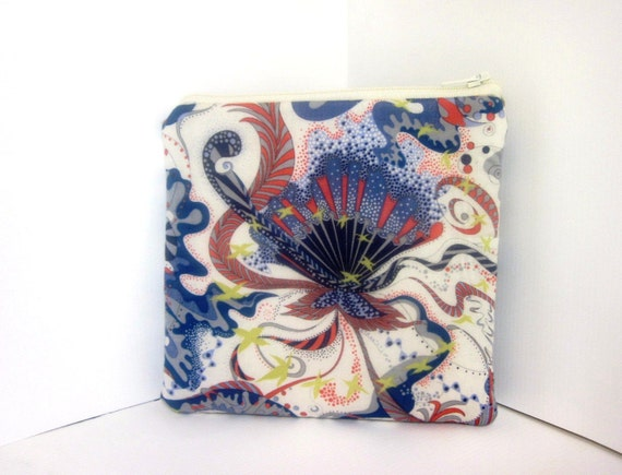Small Zipper Pouch - Liberty of London Tana Lawn Fabric