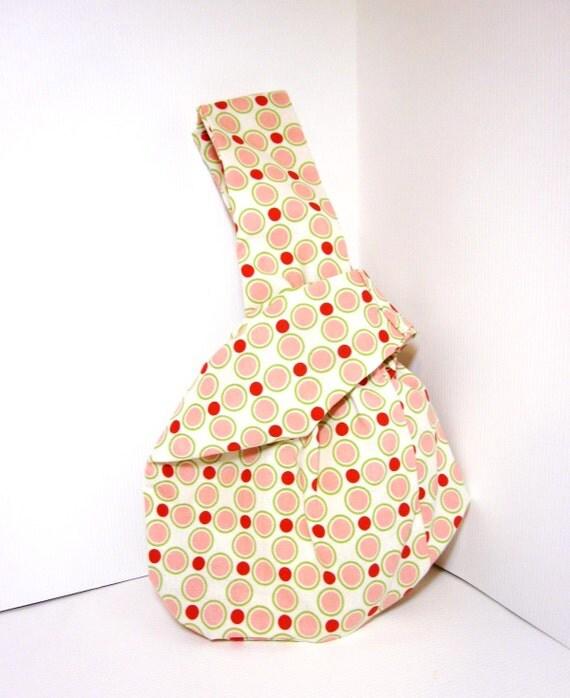 Japanese Knot Bag Wristlet / Project Bag / by handjstarcreations