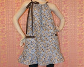 Brown Hippie gypsy  Dress Or Top On Sale