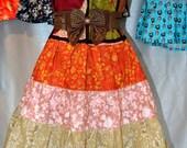 Hippie Patchwork Summer  Halter Dress S 103 On Sale