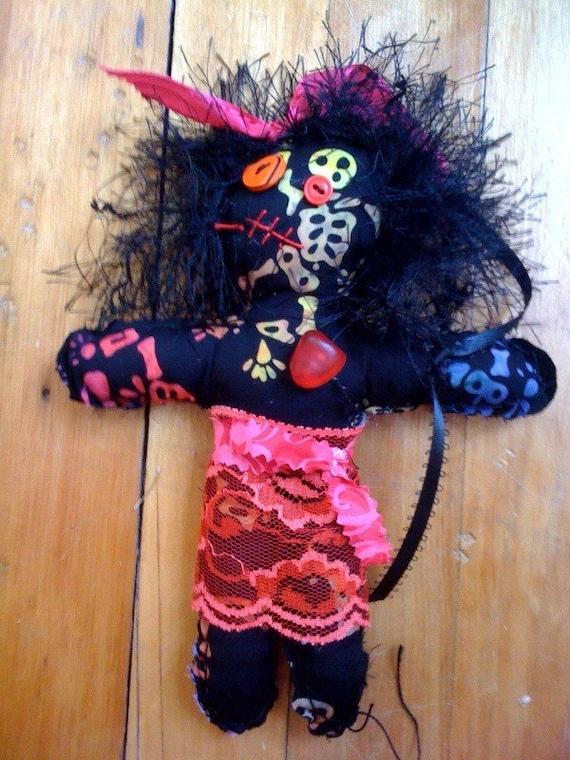 girly voodoo doll. Black Bedroom Furniture Sets. Home Design Ideas