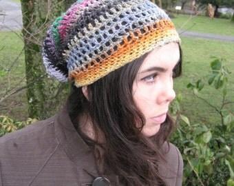 organic Multicolor Crocheted Hat 179/10