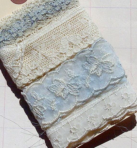 Vintage Lace Vintage Trim Kit Tag Something Blue