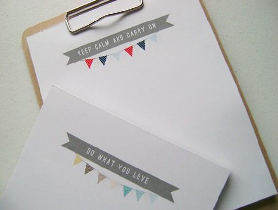 Notepad-tiny garland