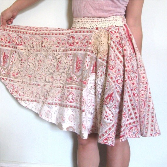 SALE Sweet Darlin' circle skirt Sz xs-m