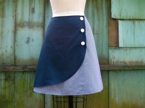 SALE Sweet Suzy faux wrap skirt Sz 10