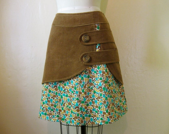 Harvest double layer skirt Sz 6