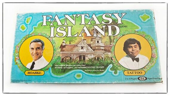 Vintage 1978 Board Game- Fantasy Island with Mr. Roarke and Tattoo, vestiesteam