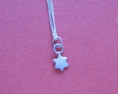 Teeny, Tiny Star of David (Sterling Silver) Necklace