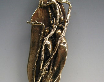 Burning Bush Mezuzah