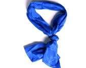 Blue Vintage Scarf - Womens Fashion Accessory