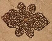 Large Filigree Pendant/Brooch