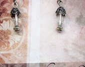 Crystal Teardrop and Silver Lever-Back Earring Kit   DIY