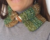 Mixed Brown, Green and Beige Neck Collar