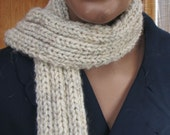 Cabin Fever-  Knitted Winter Scarf
