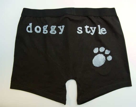 Cheeky paw print mens boxer briefs - HALF PRICE
