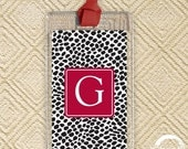 2 FOR 1 SALE -- Luggage Tags - Dots