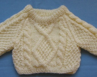 Fisherman Sweater for American Girl Doll