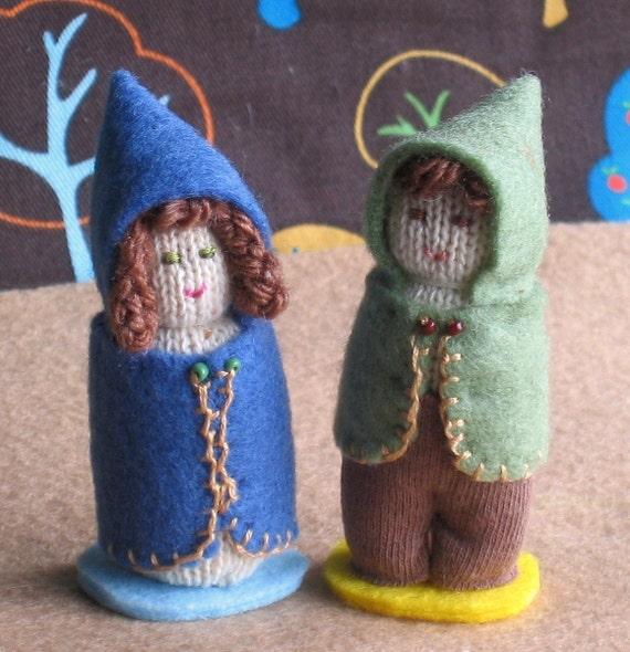 Hansel and Gretel dolls - Waldorf inspired figures
