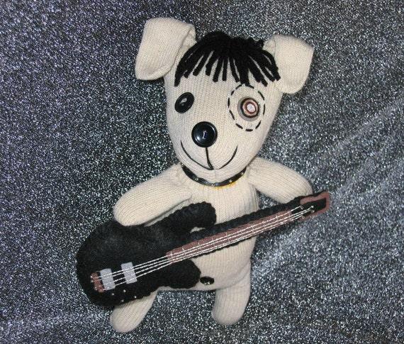 RESERVED FOR MARYANN - Guitar dog plush stuffed animal toy