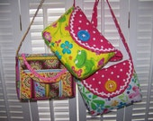 Child's Purse pattern fast easy adorable sewing pdf pattern and Tutorial with Immediate Download e-file