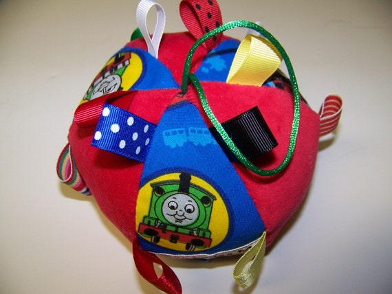 "pdf Pattern Taggie Ball toy for Baby 5"" Dia. Infant Toy."