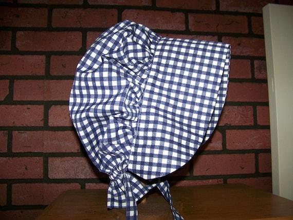 Ladies Adult Bonnet Costume pdf Pattern