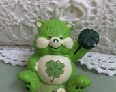 Good Luck Care Bear figure 1980s
