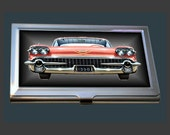 Business Card Case - Vintage Cadillac 1958 (its all chrome)