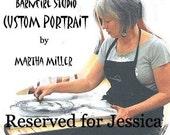 Custom Portrait RESERVED for JESSICA