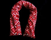 Achy Neck Soother - Red Skull Bandana
