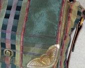 Plaid messenger style bag by Opulent Handbags