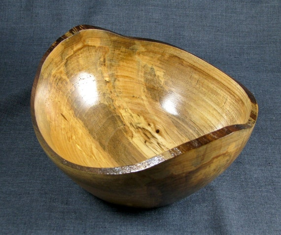 Natural Edge Maple bowl