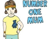 Mother's Day Card - Number One Mum