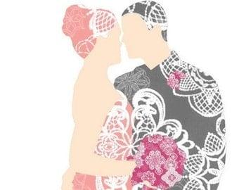 Wedding Card - Cherish