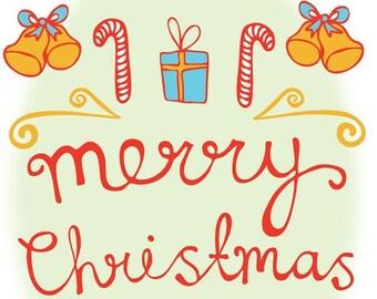 Christmas Card - Primary Pretty