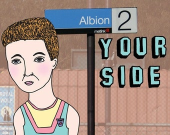 Melbourne Card - Albion Your Side