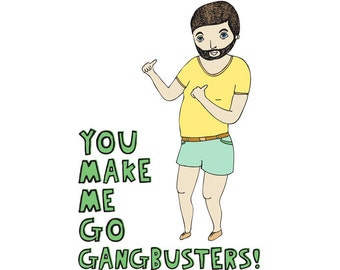 Greeting Card - Gangbusters